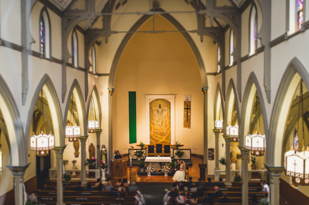 Andrea & Kevin Get Married - Saint Rose of Lima Freehold, NJ