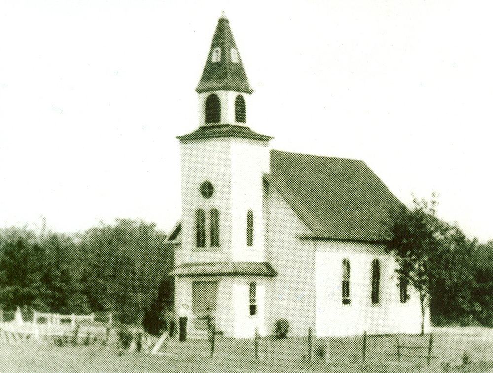Original Church Building, circa 1898