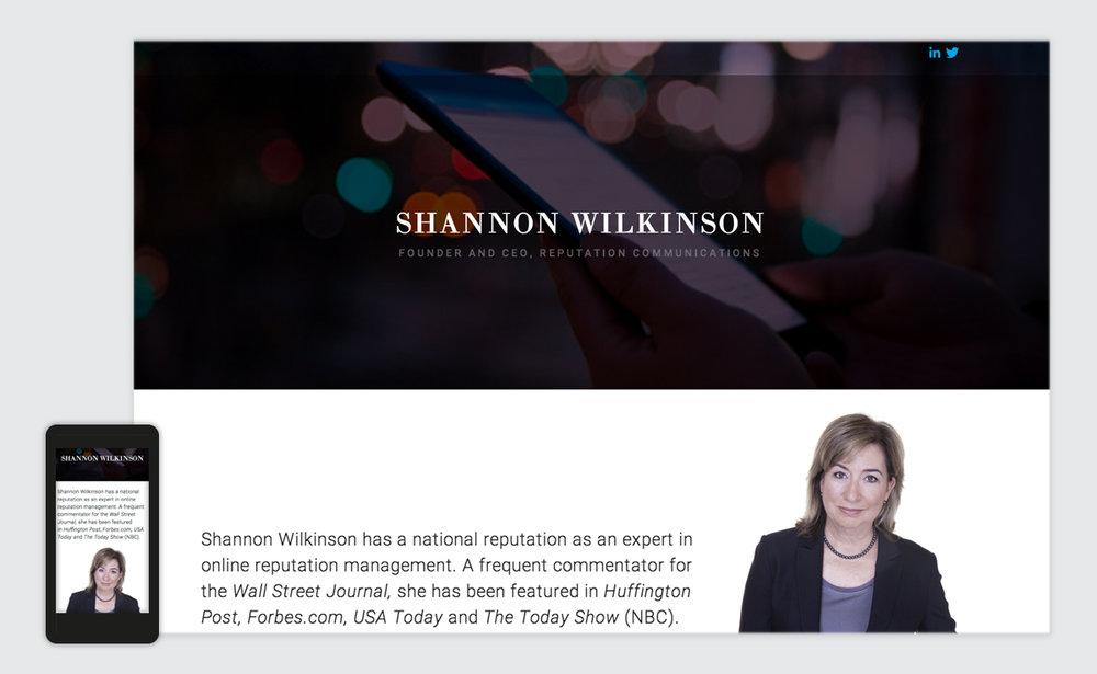 Shannon Wilkinson