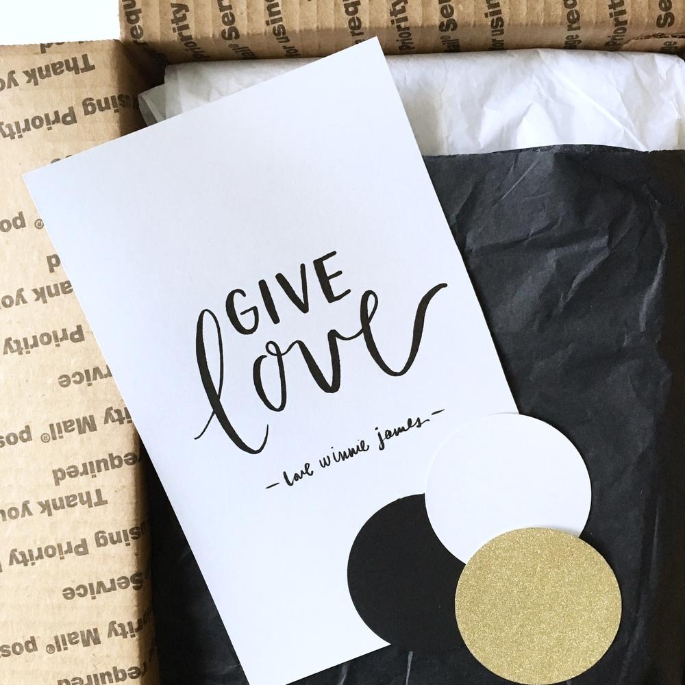 give love Campaign Box