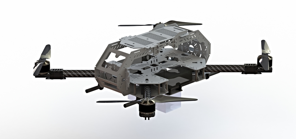 Solidworks CAD model of the EiKON Research platform