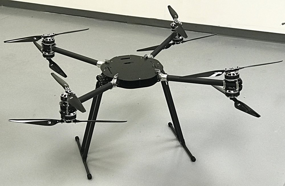Heavy Lift X8 UAV