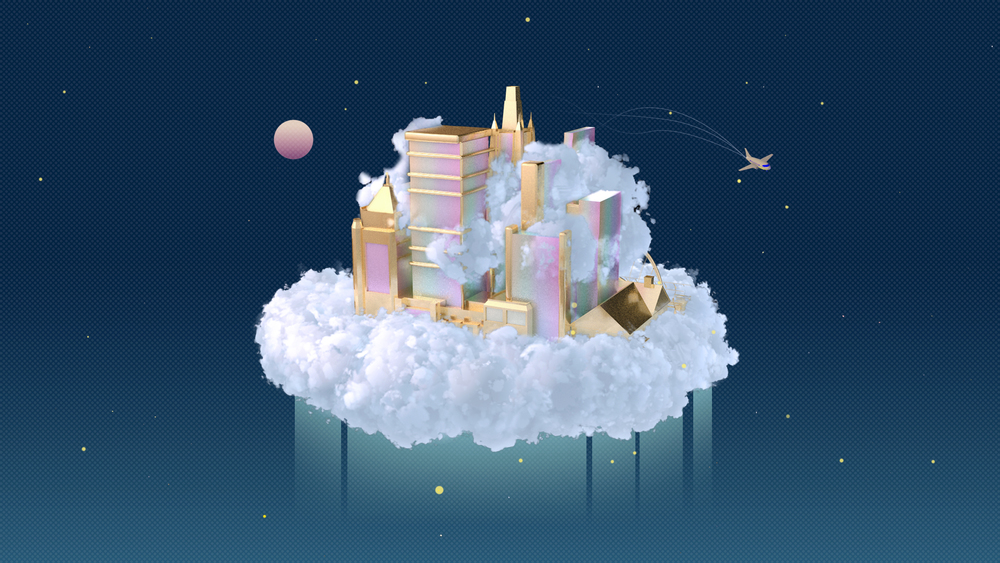 Ever imagined if there is a hidden city growing in the clouds?