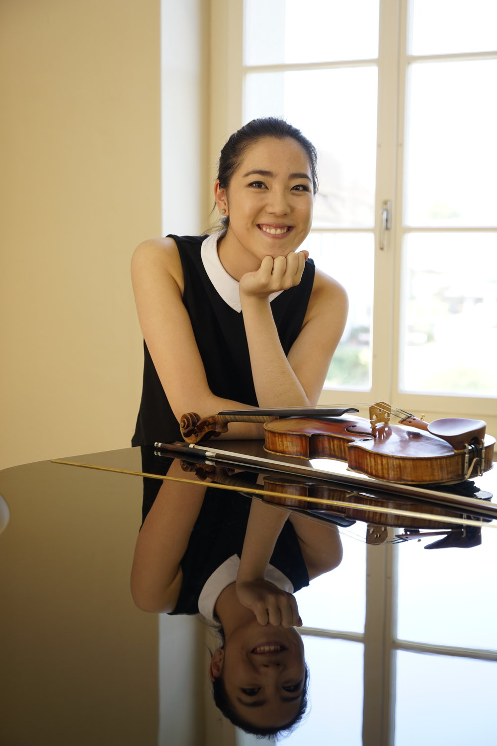 Sarah Kuo, violin