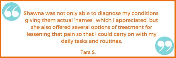 pain testimonial Tara S. Shawna Seth, L.Ac. acupuncture San Francisco