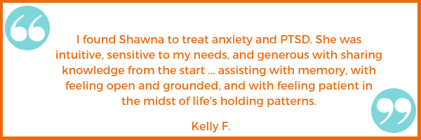 PTSD anxiety testimonial emotional health Kelly F. Shawna Seth, L.Ac. acupuncture San Francisco Oakland