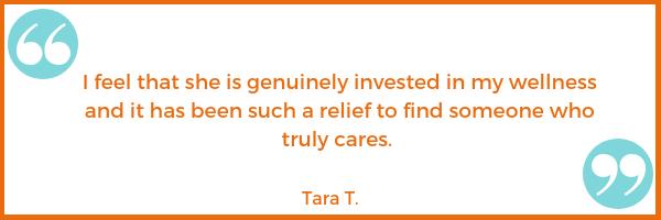 care testimonial Tara T. Shawna Seth, L.Ac. acupuncture San Francisco
