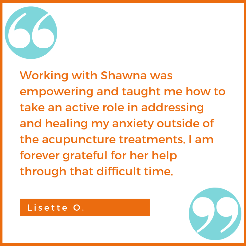 anxiety testimonial Lisette O. Shawna Seth, L.Ac. acupuncture San Francisco