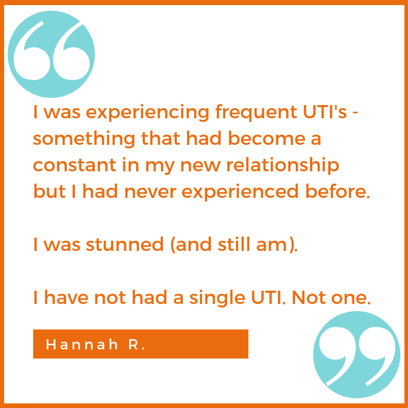 chronic UTI testimonial Hannah R. Shawna Seth, L.Ac. acupuncture San Francisco