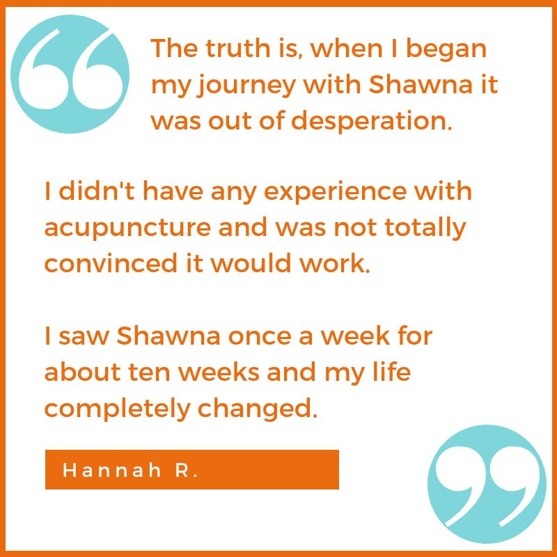skeptic testimonial Hannah R. Shawna Seth, L.Ac. acupuncture San Francisco