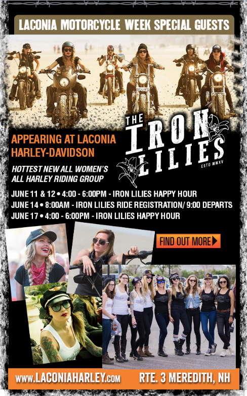 Iron Lilies and Laconia Bike Week