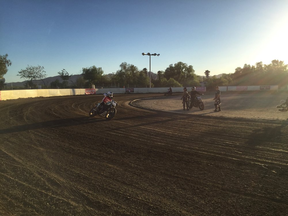 Leticia Cline Hooligan Flat Track Racing Perris Speedway