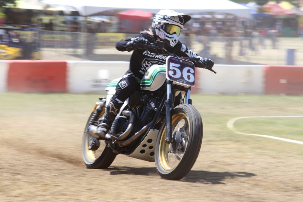Leticia Cline Hooligan Flat Track Racing at Lost Highway