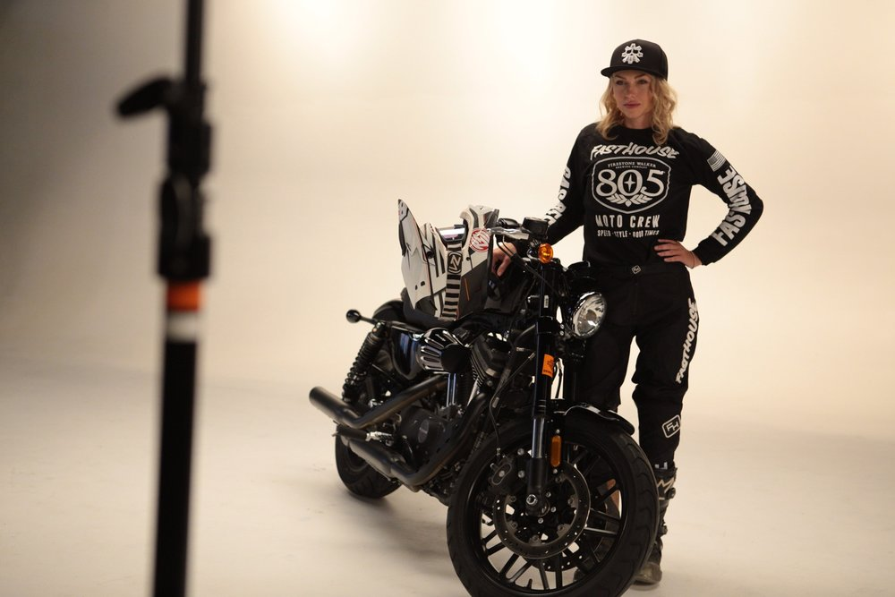 Leticia Cline. The First Female Harley Hooligan