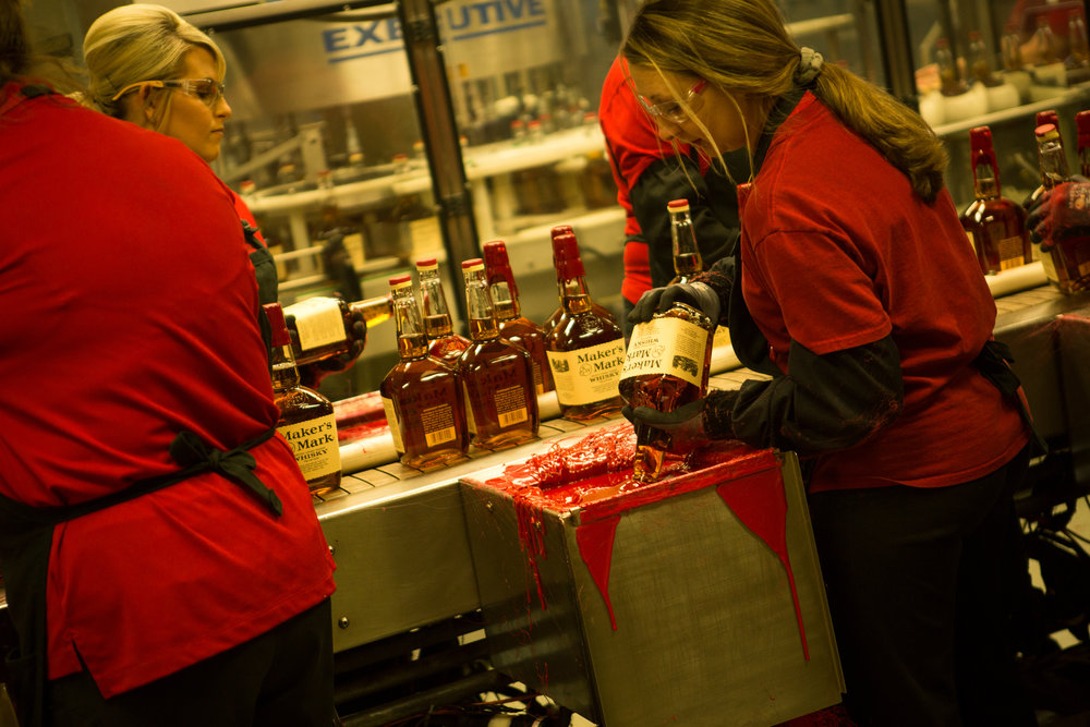 Makers Mark Distillery Leticia Cline shot by Preston Burroughs