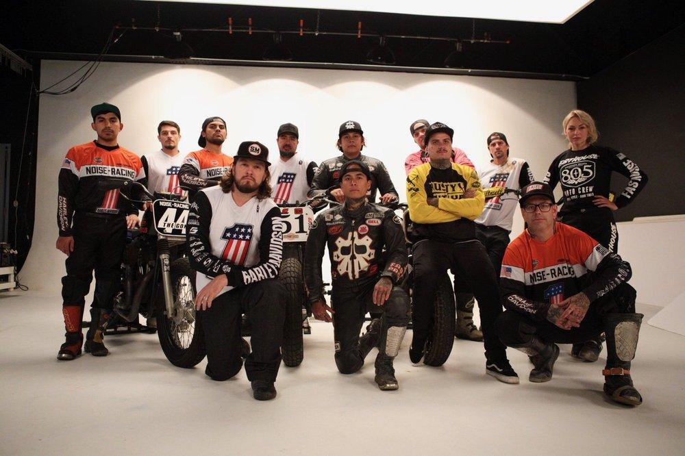 Harley-Davidson Hooligan Flat Track Team Leticia Cline