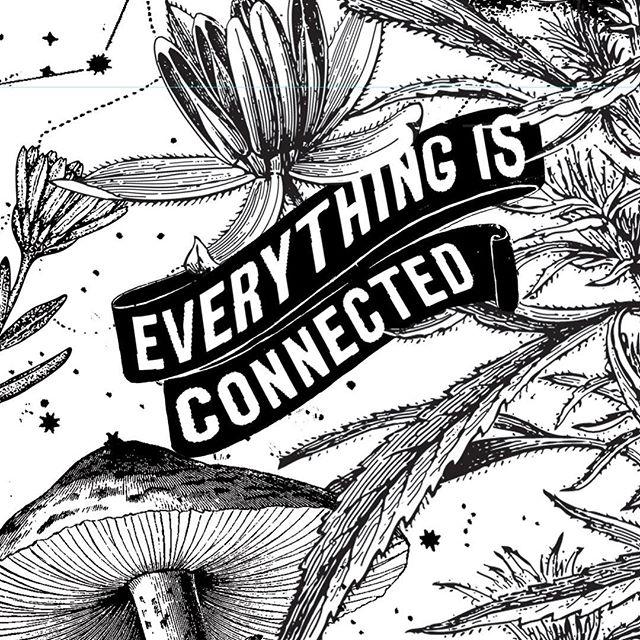 #WIP shot of one of my posters for Denver Comic Con. Avoid gurus, follow plants. #screenprinting #illustration #gigposter #graphicdesign #photoshop #art #botany #plants #botanicaldimensions @sallycentigrade @denvercomiccon #designspiration #designinspiration #jacksonhole