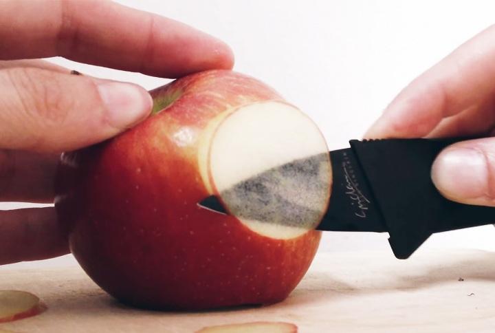 Thin apple slice Zazzle