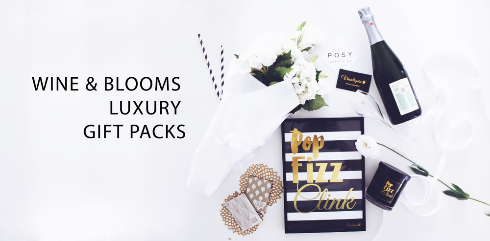 champagne luxury gift pack