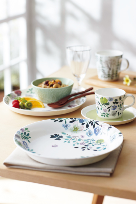 Anna Emilia for Narumi & Tableware \u2014 Illustrations by Anna Emilia Laitinen
