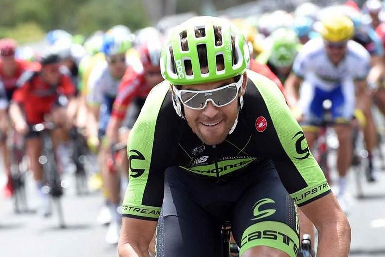 Poc is kit supplier to the Cannondale Garmin pro cycling team, which Ryder Hesjedal rides for