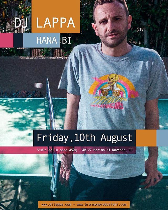 On Friday, August 10th I'll perform a special 2000-2018 cdjset @ Hana-Bi in Marina di Ravenna.  Anni Zero Plus (fino alle 3:00) w/ Föllakzoid live + djs ToffoloMuzik, Trinity and #PartyMarty  FREE ENTRY.