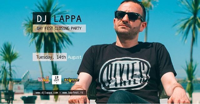 TONIGHT!  @bayfestsummer closing party cdjset @bekybay, Bellaria Igea Marina w/ dj Zigna (Rock Beach Festival)  FREE ENTRY.  #bayfest #bayfest2018 #djset #djs #dj #djlappa #djzigna #pop #indie #rock  #alternative #punk #punkrock #hardcore #anthems #electro #eclectic #qualcosina #qualcosinaparty #bellariaigeamarina #rimini #emiliaromagna #italy #bekybay #spiaggialibera #thestudentbeach #rockbeachfestival #afterfest #freeentry