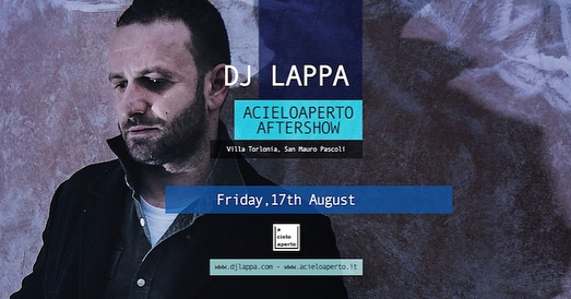 TONIGHT!  Final summer show!  Cosmo / acieloaperto official Aftershow cdjset | Villa Torlonia - Parco Poesia Pascoli  powered by @retropoplive / @monogawa_  FREE ENTRY.  #acieloaperto #acieloaperto2018 #retropoplive #sanmauropascoli #cesena #cosmotronic #cosmo #djset #djs #dj #djlappa #pop #indie #rock  #alternative #punk #hardcore #anthems #electro #eclectic #bellariaigeamarina #rimini