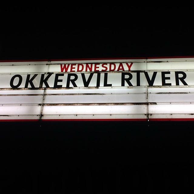 #tb Okkervil River live @ Lido 26.09.2018 #Berlin #nofilter