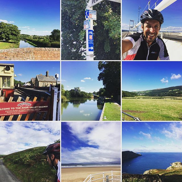 Home after a fantastic 6 days cycling from Fishguard on the West coast of Wales back to London. A little over 400 miles in total and all along the National Cycle Network route number 4. A beautiful fully sign posted route thanks to the wonderful people @sustrans.  #cycle #bike #uk #Wales #fishguard #london #england #sustrans #route4 #adventure #getoutside #sayyesmore
