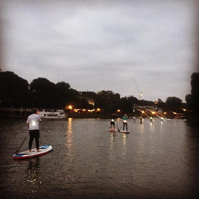 Last night was a beautiful if not a little windy paddle on the Thames with @supkiko. Thanks so much for allowing me to tag along!  Great to start building on the skills & knowledge gained from @supbristol & the @waterskillsacademy  #sup #paddleboard #paddleboarding #standuppaddle #richmond #richmondbridge #thames #riverthames #london #england #uk #adventure #water #river