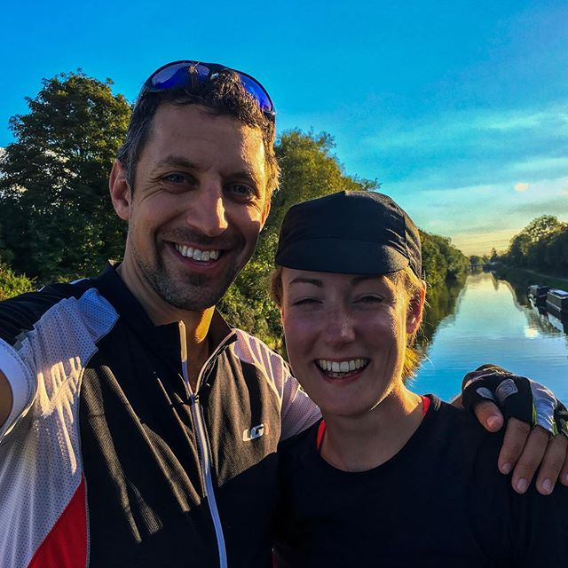 Two days of cycling with the wonderful @fionalquinn done and dusted.  Another glorious day in saddle as I gate crashed her Lands End to John O'Groats adventure.  Thanks so much for having me along and good luck with the rest of the journey.  #cycle #bike #lejog #jogle #sustrans #adventure #england #uk #sayyesmore