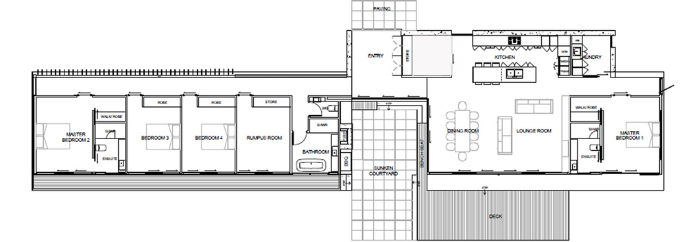 Floorplan -   Copperstone KI
