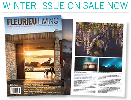 News Flash   :  Copperstone KI featured in the Winter edition of Fleurieu Living Magazine 2016.