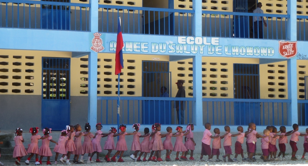 Impact evaluations and assesments for schools in Haiti