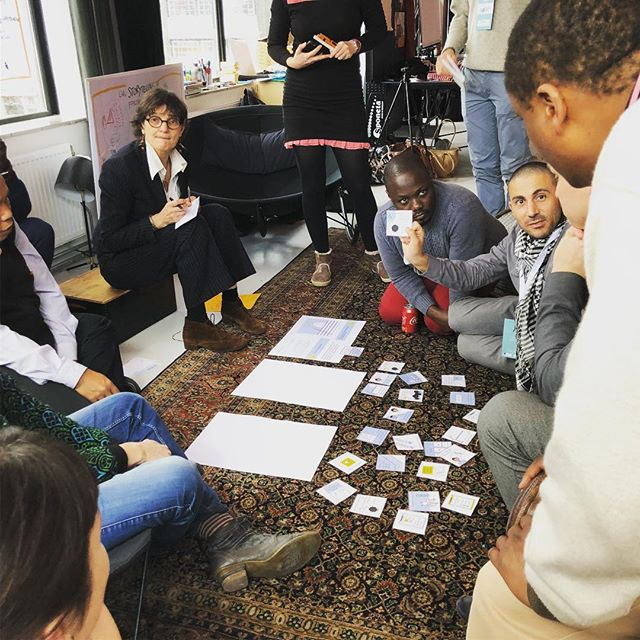 What challenges do people with disabilities face? Testing the next version of our Inclusion Game, for more inclusive health services in developing countries. Great feedback!! #inclusion #healthcare #voiceglobal #icube2018 #lightfortheworld