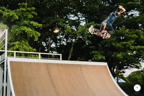 skateboard shoot