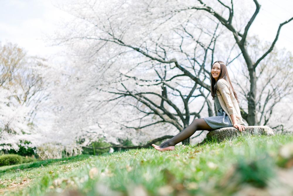 4月の桜はカメラで撮ると、写りにくい!これは、カメラの性能上どうすることも出来ない。