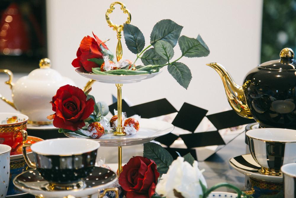 Sales suite Alice In Wonderland inspired tea party