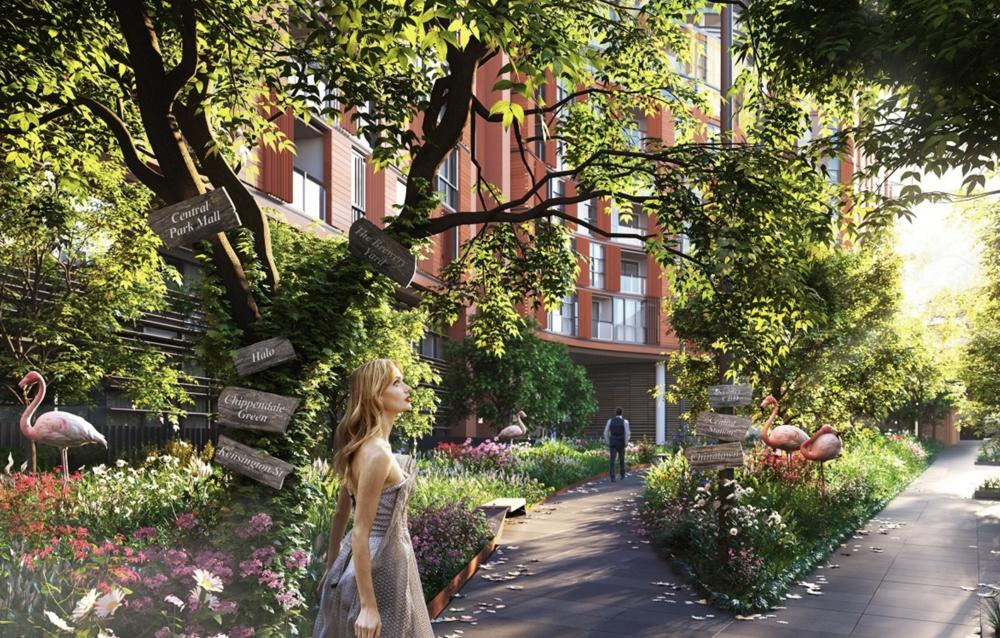 Exterior Render of Final Central Park release