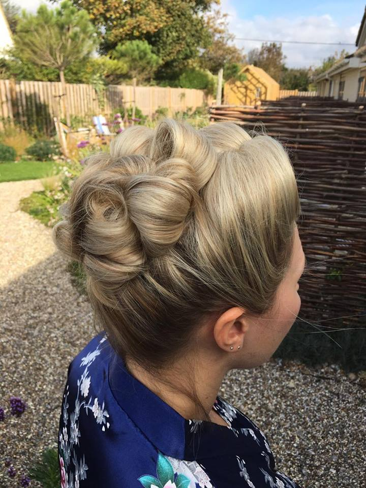 Kate's Bridesmaids hair