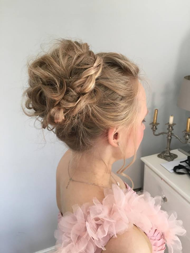 Lyndsey Bridesmaid Hair