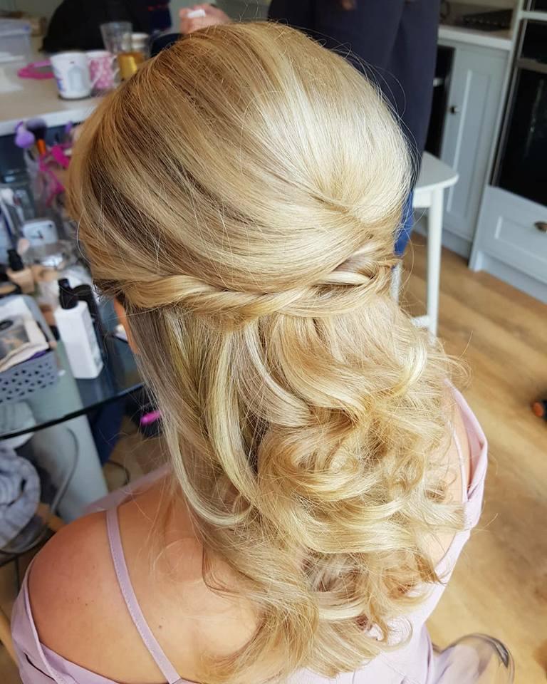 Bridesmaid wedding hair brighton.jpg