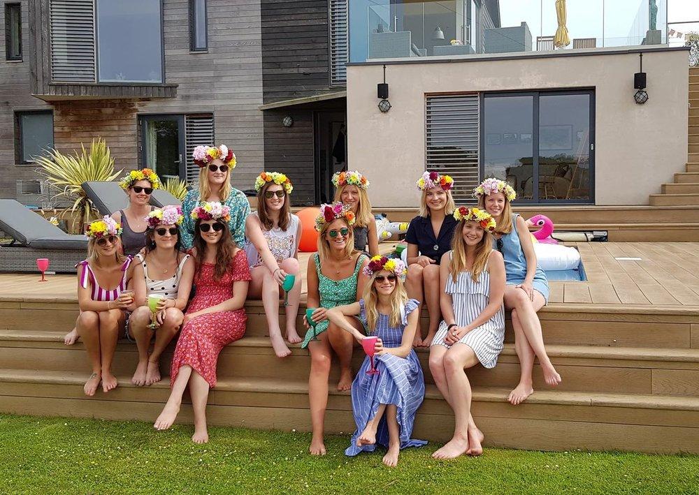 Flower crown hen party Brighton .jpg
