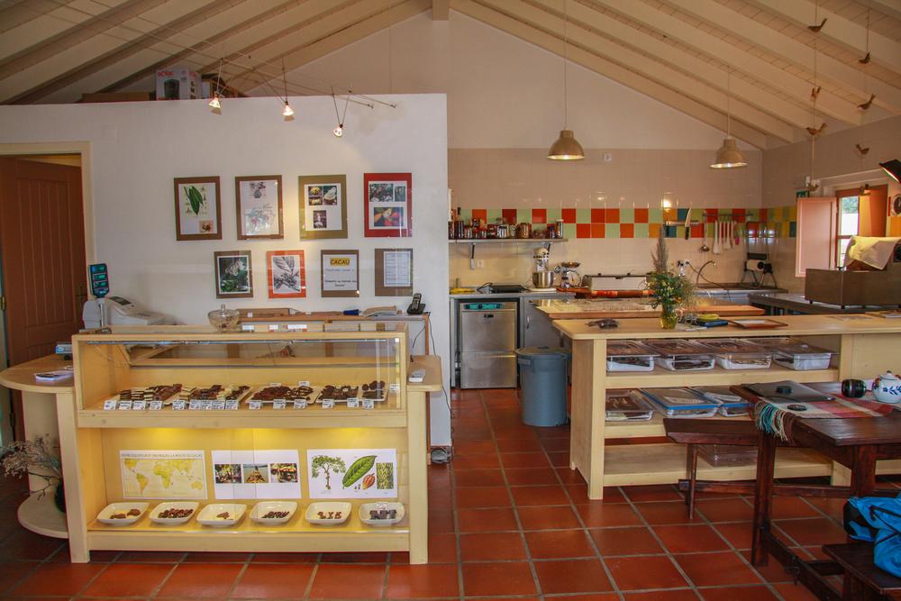 Display for Chocolate de beatriz in Odemira