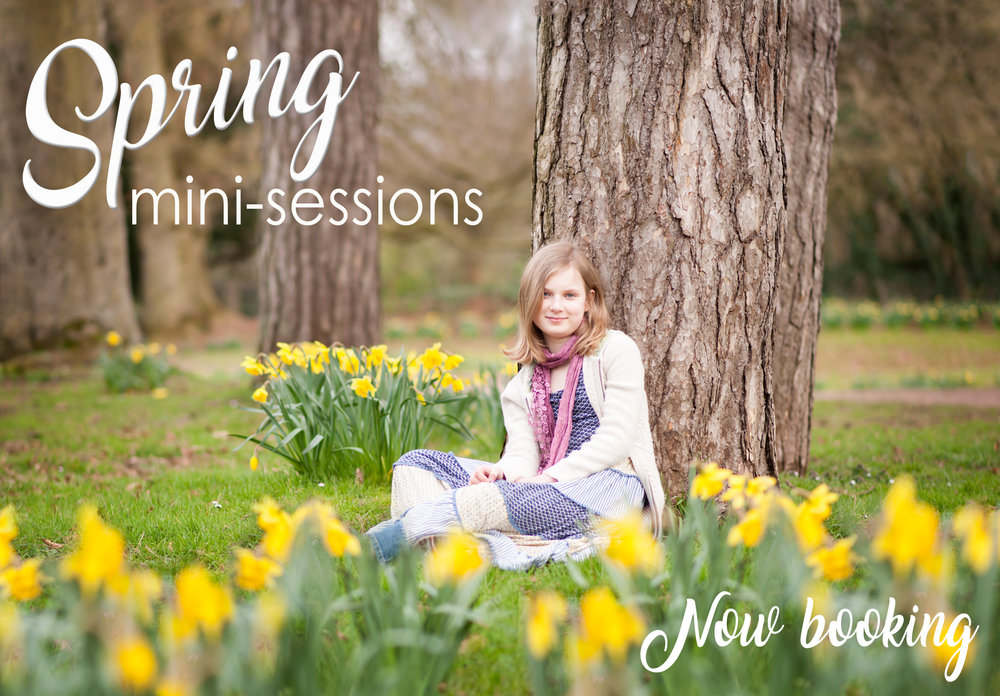 Spring mini photography sessions