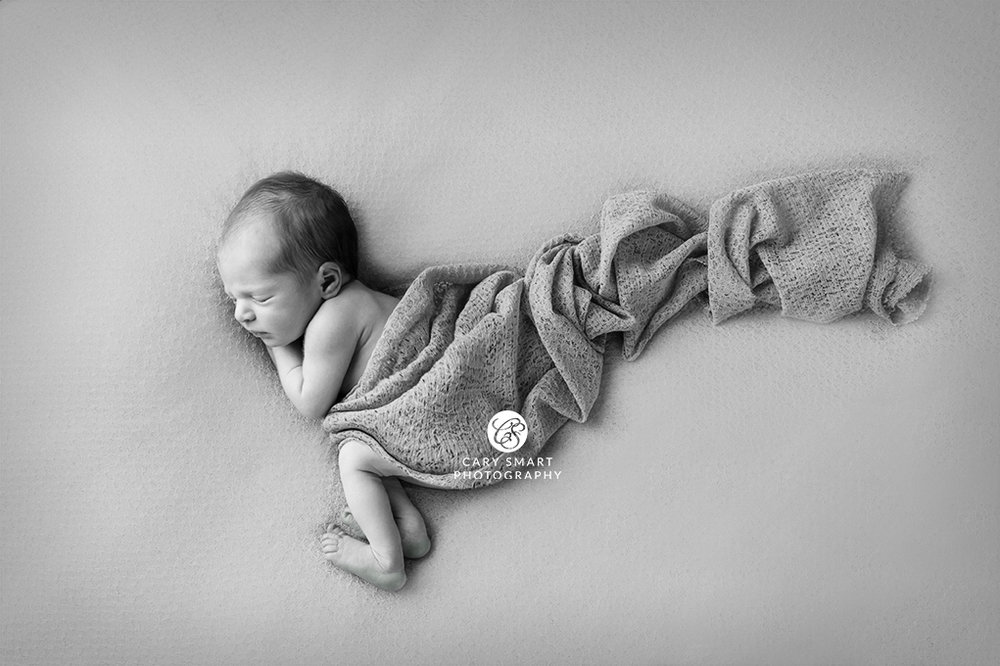 Newborn fine art portrait