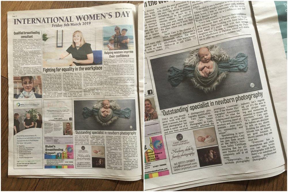 International Women's Day news feature