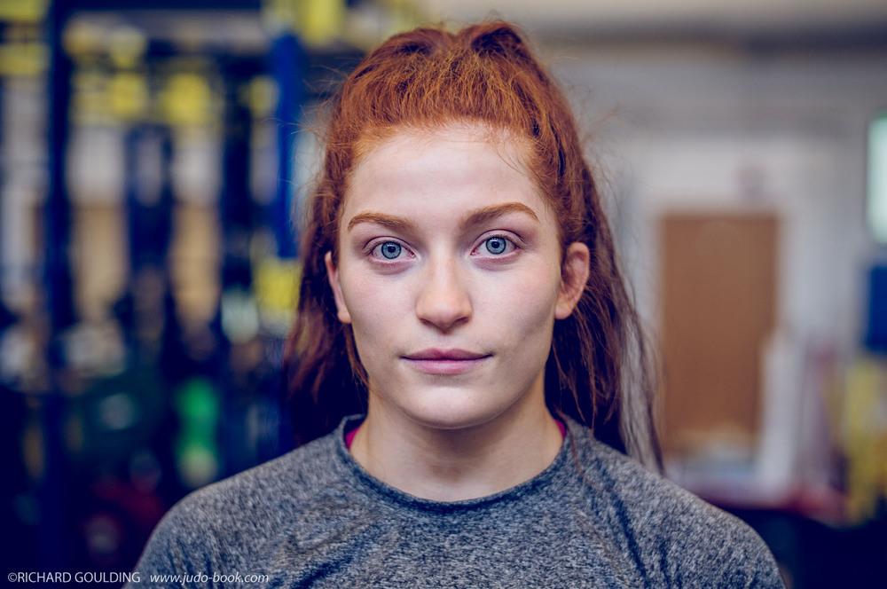 Lubjana Piovesana, GB -63kg Judoka, photographed at Walsall COE July 2016