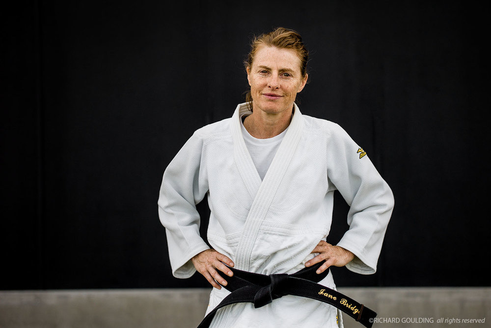 Jane Bridge is a British judoka who won three European Championship gold medals and was the first Women's World Champion at under 48 kg. #PressforProgress #InternationalWomensDay #IWD2018 @WomansDay  Photographed, Dartford, England 2011. ©RichardGoulding, all rights reserved.